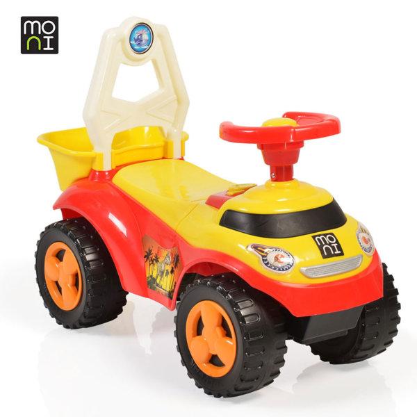 Moni - Детска кола за бутане с крачета Summer 8207 червена 106113