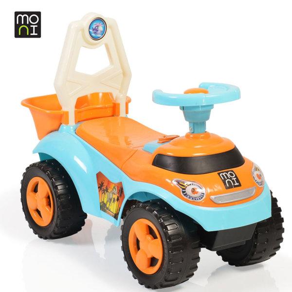 Moni - Детска кола за бутане с крачета Summer 8207 синя 106112