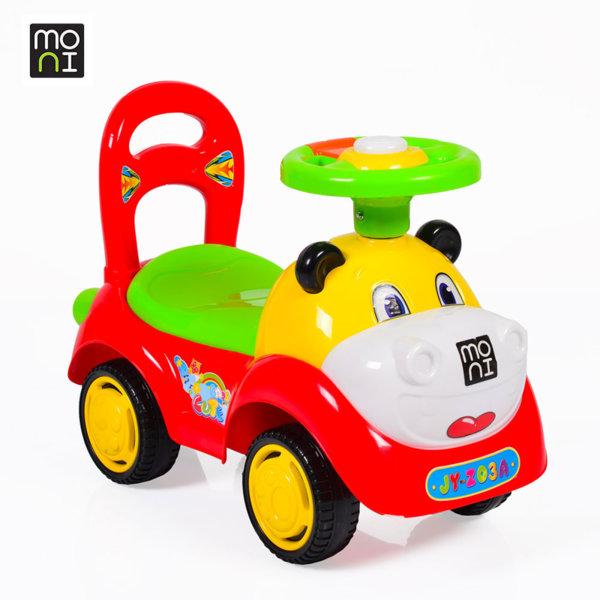 Moni - Детска кола за бутане с крачета Super car red Z03 104367