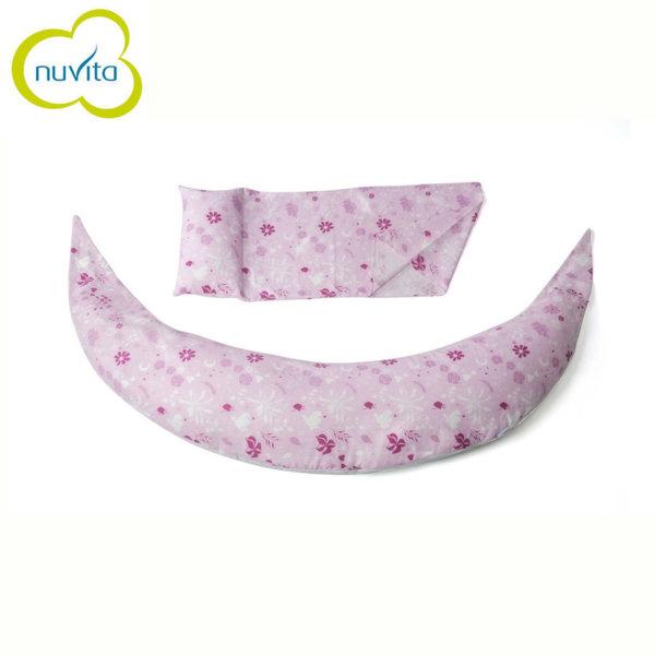 Nuvita - DreamWizard 10в1 възглавница за бременност и кърмене розова 71006