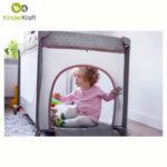 KinderKraft - Joy Simple бебешка кошара розова 99236