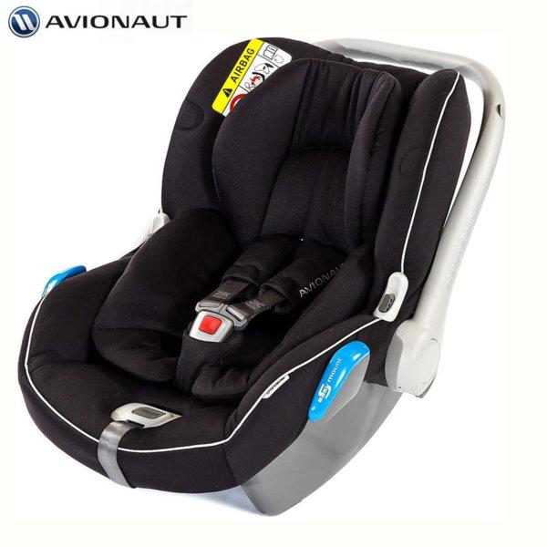 Avionaut - Kite+ Столче кошница за кола 0-13кг K.03 черно AGK03