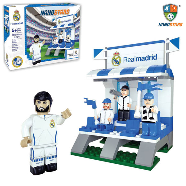 NanoStars - Конструктор Real Madrid Футболна трибуна 7203