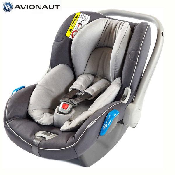 Avionaut - Kite+ Столче кошница за кола 0-13кг K.05 светлосиво/тъмносиво AGK05