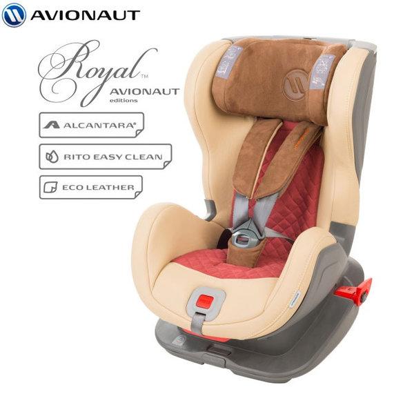 Avionaut - Glider Royal IsoFix столче за кола 9-25 кг L.04 бежово/червено AGRI04