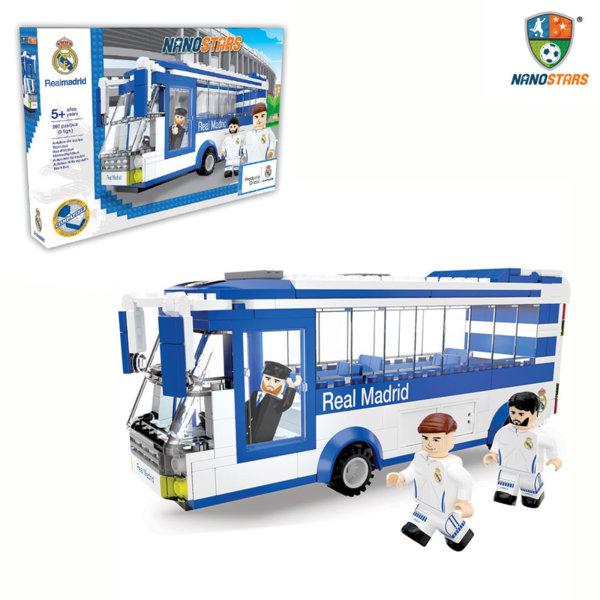 NanoStars - Конструктор Real Madrid Автобус 7204