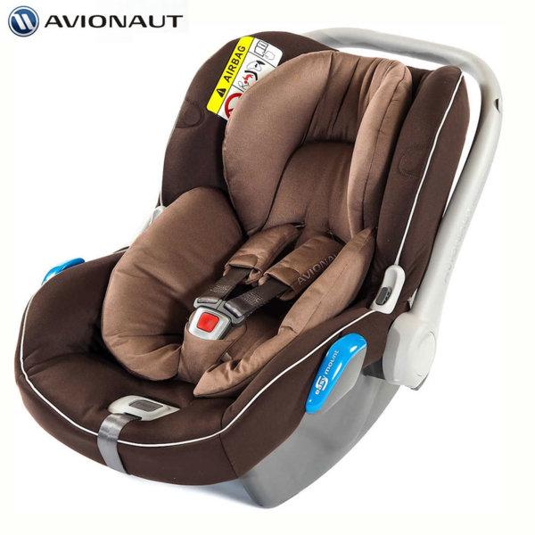 Avionaut - Kite+ Столче кошница за кола 0-13кг K.07 кафяво AGK07