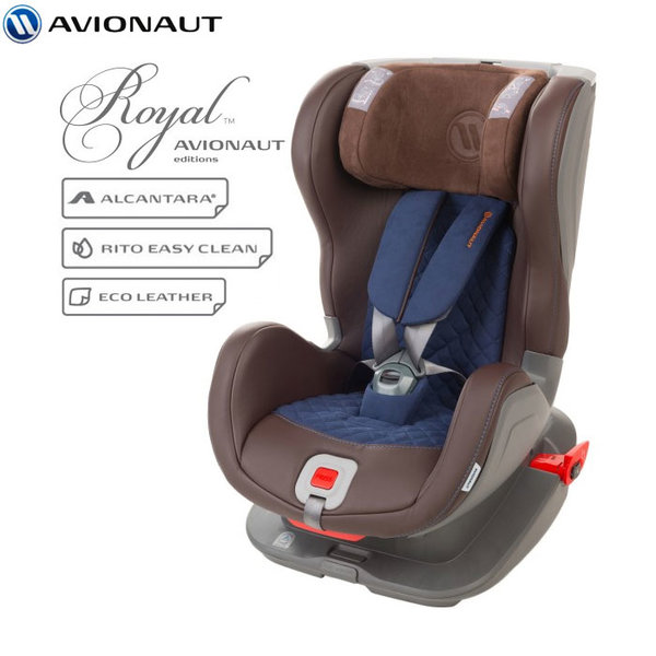 Avionaut - Glider Royal IsoFix столче за кола 9-25 кг L.03 кафяво/синьо AGRI03