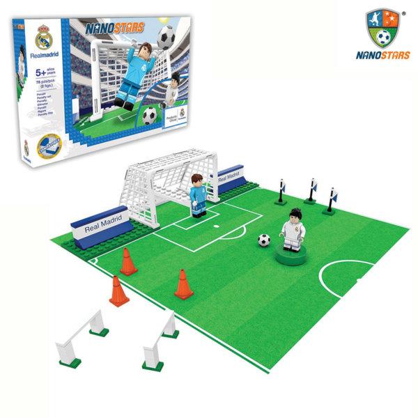 NanoStars - Конструктор Real Madrid Футболна врата 7205