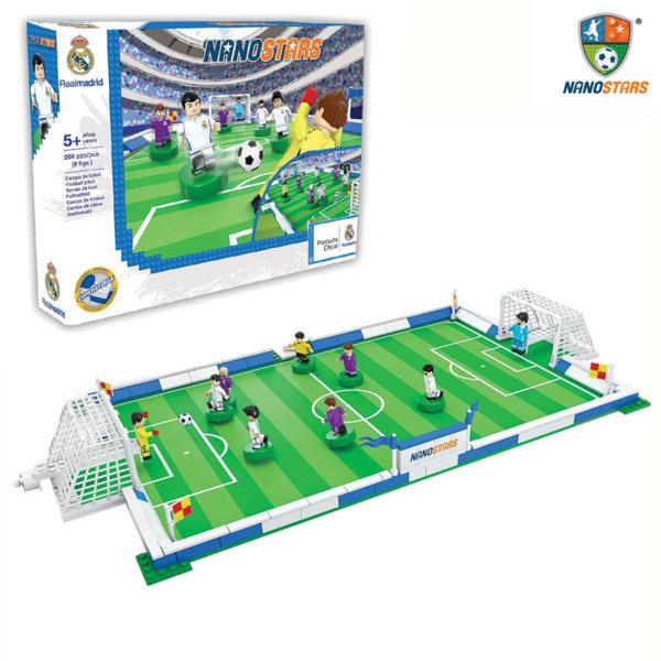 NanoStars - Конструктор Real Madrid Футболно игрище 7206