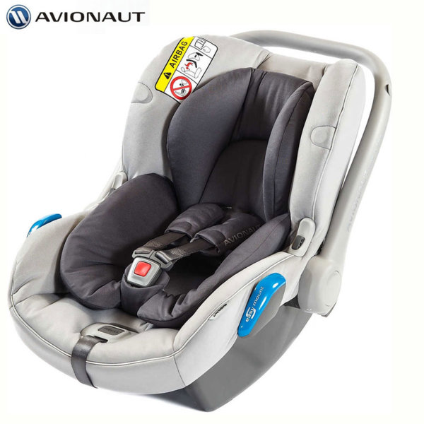 Avionaut - Kite+ Столче кошница за кола 0-13кг K.02 сиво AGK02