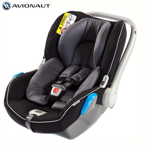Avionaut - Kite+ Столче кошница за кола 0-13кг K.04 сиво/черно AGK04