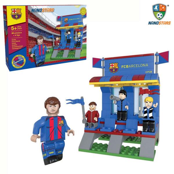 NanoStars - Конструктор FC Barcelona Футболна трибуна 7303