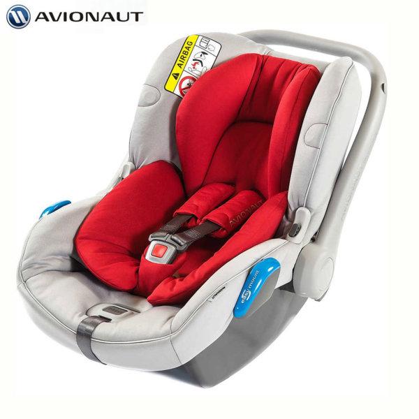 Avionaut - Kite+ Столче кошница за кола 0-13кг K.01 червено AGK01