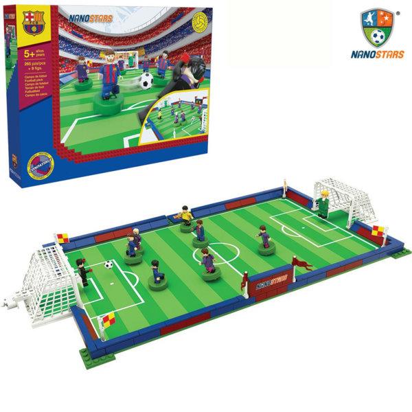 NanoStars - Конструктор FC Barcelona Футболно игрище 7306