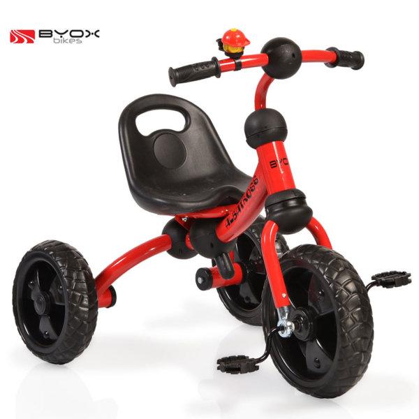Byox Bikes - Детско колело триколка Albatross red 106105