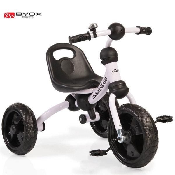 Byox Bikes - Детско колело триколка Albatross white 106103