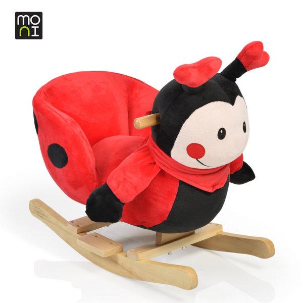 Moni - Музикална плюшена люлка Ladybug 1723 106080