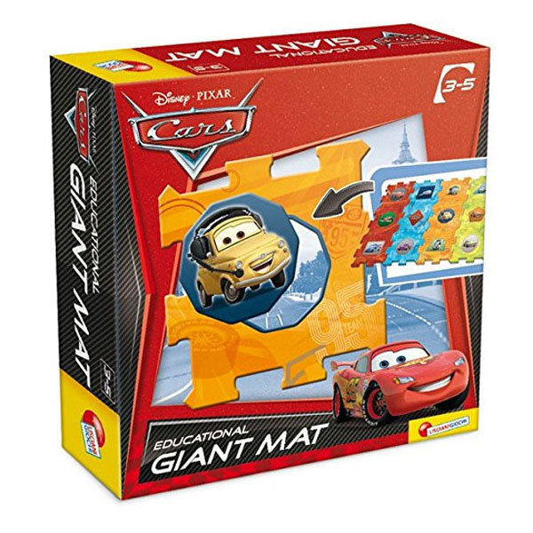 Lisciani Giochi Disney - Мек килим пъзел за под Дисни Колите 36257