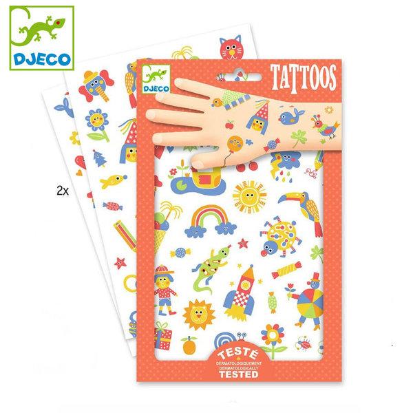 Djeco - Детски татуировки So cute DJ09589