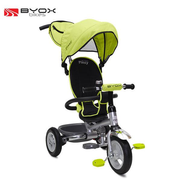 Byox Bikes - Детска триколка Flexy Air Green 103289