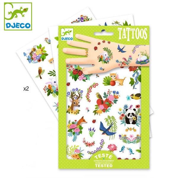 Djeco - Детски татуировки Честита пролет DJ09591