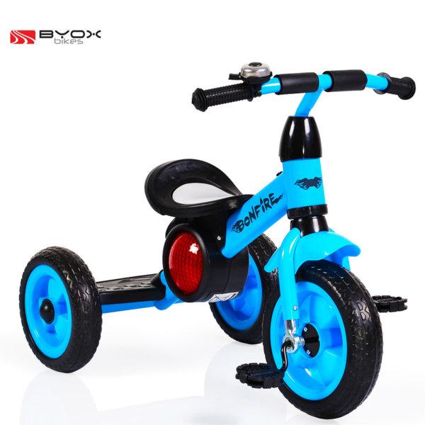 Byox Bikes - Детско колело триколка Bonfire blue 104089