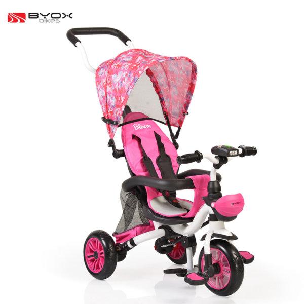Byox Bikes - Детска триколка Bloom pink 106122