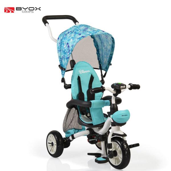 Byox Bikes - Детска триколка Bloom blue 106123