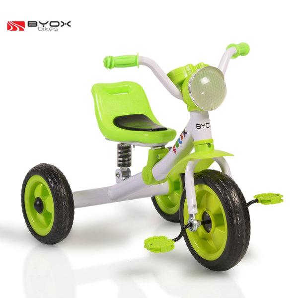 Byox Bikes - Детско колело триколка Felix green 106100