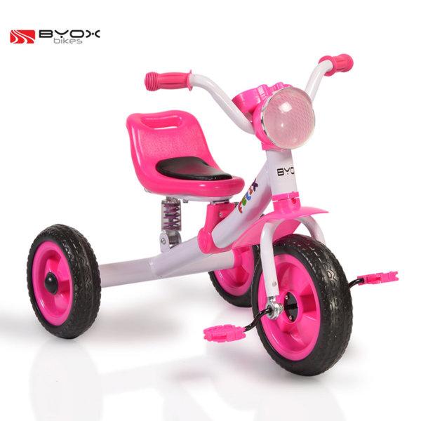 Byox Bikes - Детско колело триколка Felix pink 106102