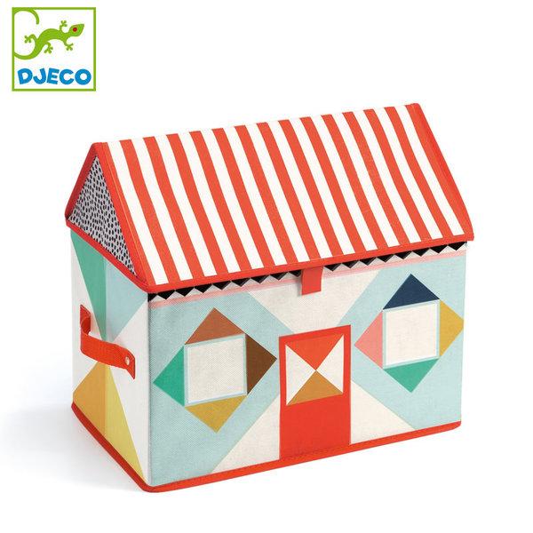 Djeco - Кутия за играчки Къща dd04480