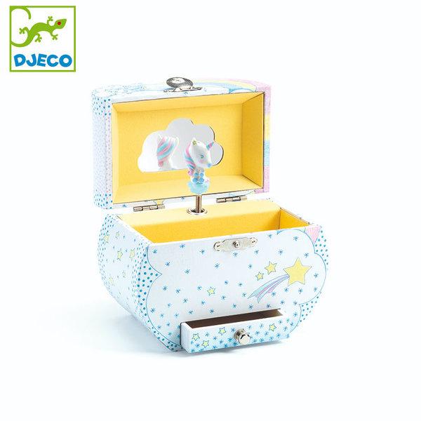 Djeco - Музикална кутия за бижута Еднорог dj06605