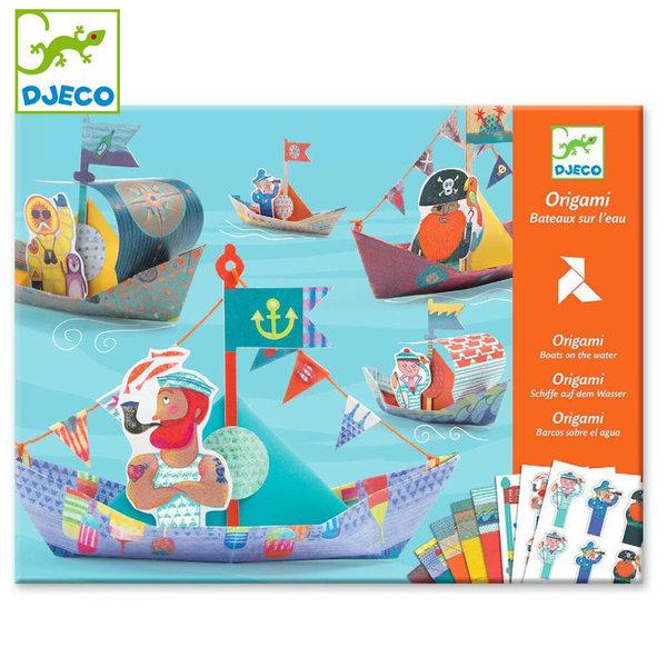 Djeco - Детска игра оригами Лодки dj08779