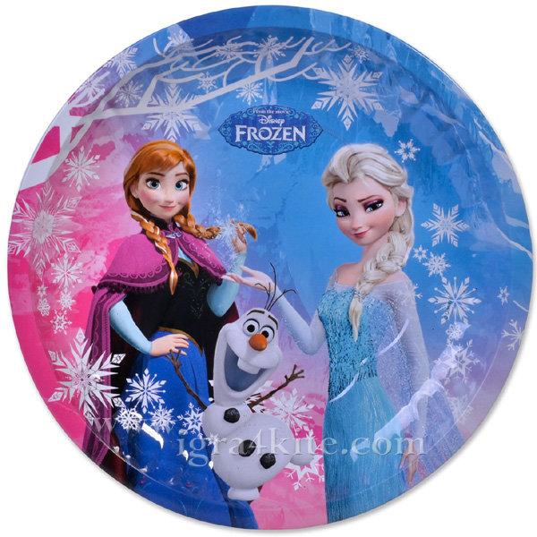Disney - Коледна чиния Дисни Замръзналото кралство