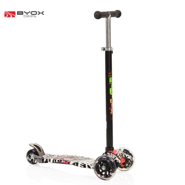 Byox Bikes - Детска тротинетка Rapture черна 104592