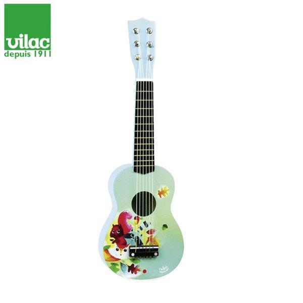 Vilac - Детска дървена китара Woodland 8349