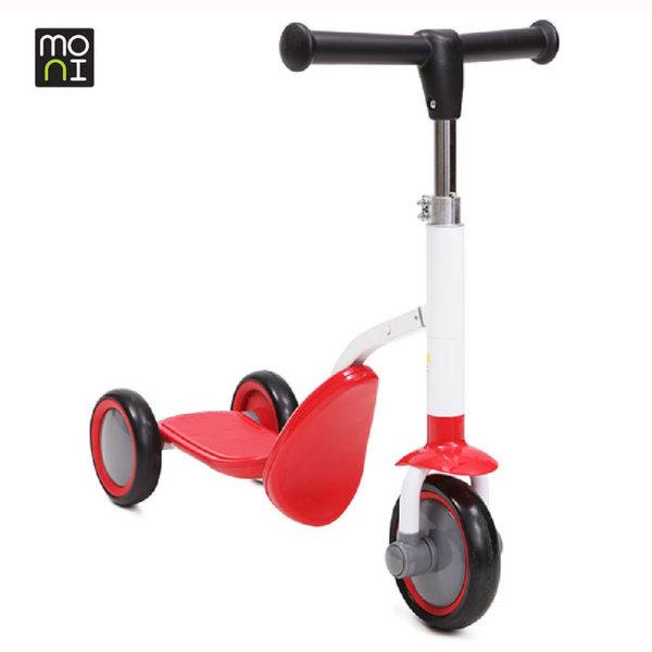 Moni - Детско колело триколка 2в1 Cool red 102244