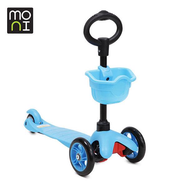 Moni - Детска тротинетка 2в1 3Go blue 104051