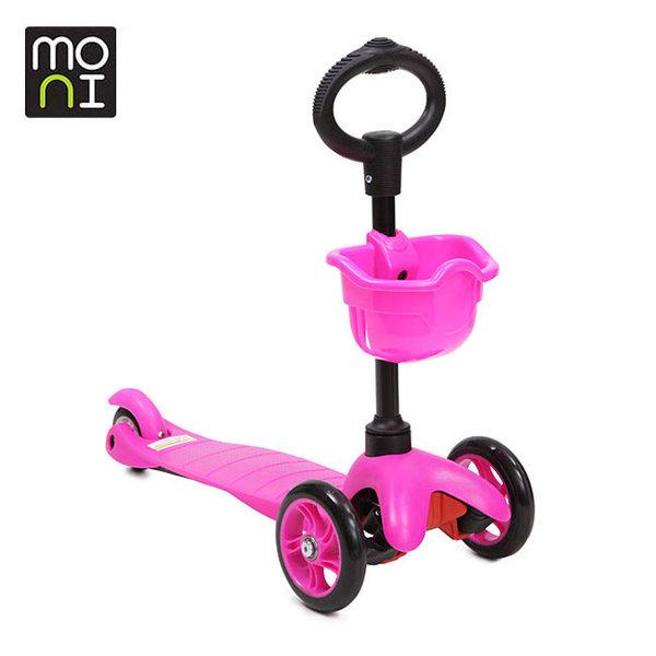 Moni - Детска тротинетка 2в1 3Go pink 104050
