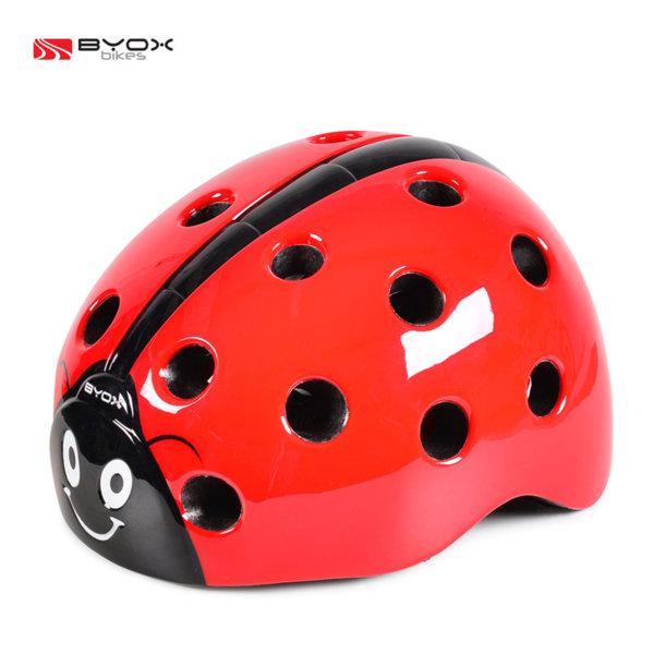 Byox Bikes - Детска каска Калинка червена 104398