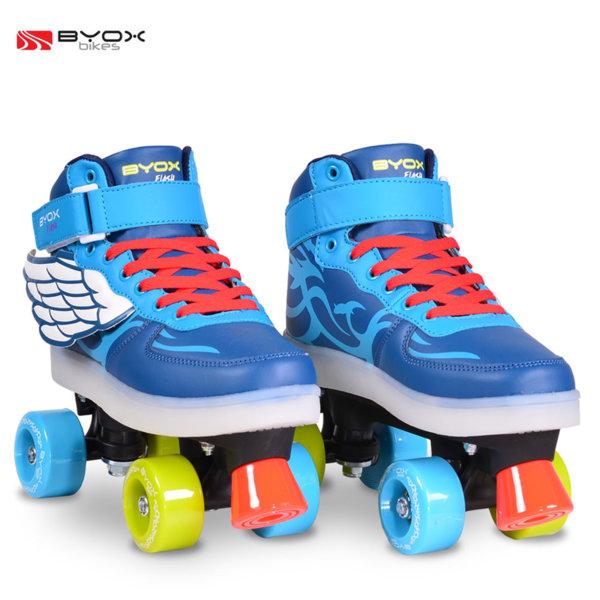 Byox Bikes - Детски светещи кънки Flash M (35-36) 104096