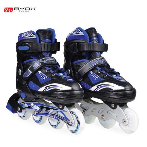 Byox Bikes - Детски ролери Sparkle blue M (34-37) 104028