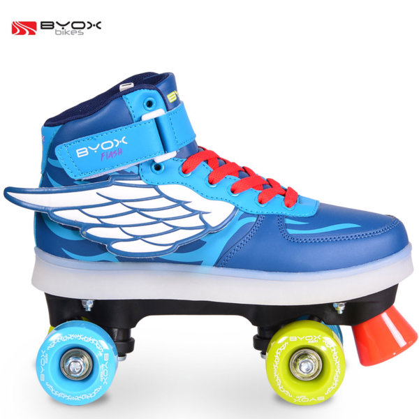 Byox Bikes - Детски светещи кънки Flash L (37-38) 104098