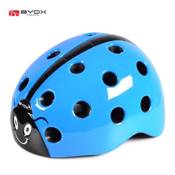 Byox Bikes - Детска каска Калинка синя 104397
