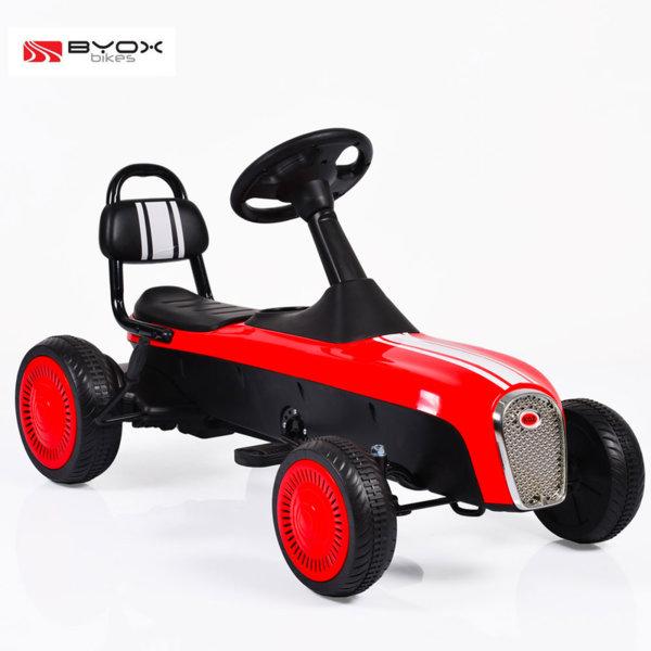Byox Bikes - Детска картинг кола Retro red 3+ 104076