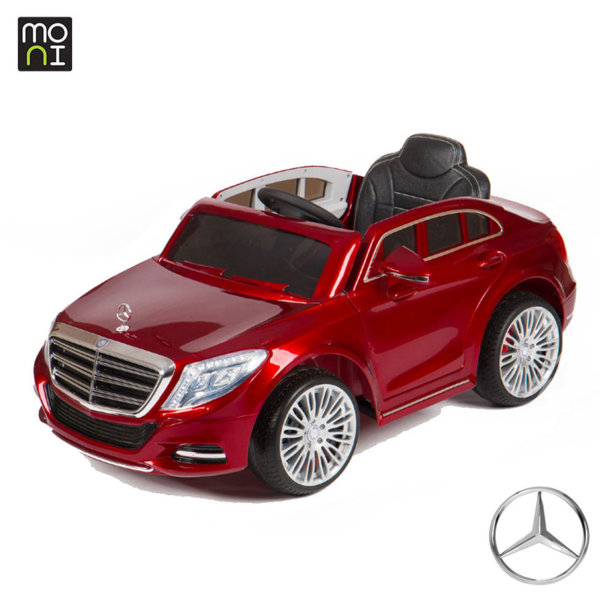 Moni - Акумулаторна кола Mercedes S-class 8003 red 106301