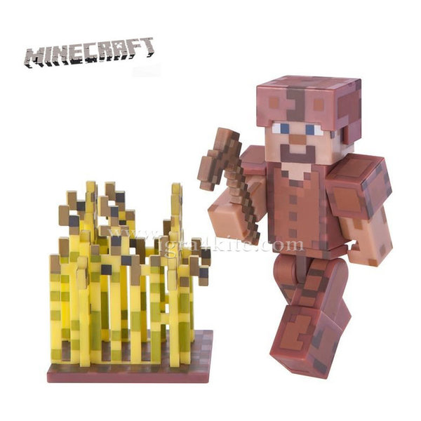 Minecraft - Фигурка Steve In Leather Armor 16484