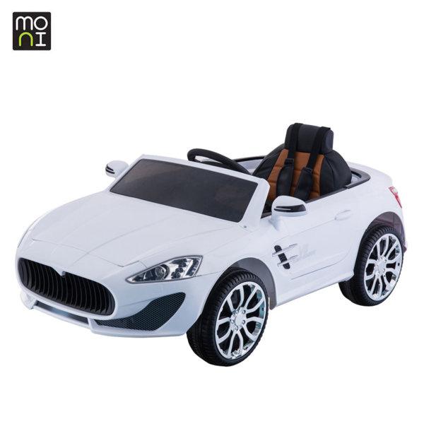 Moni - Акумулаторна кола с дистанционно управление Grande 631white 104241