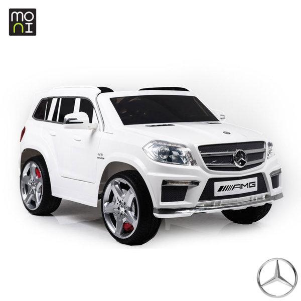 Moni - Акумулаторен джип с дистанционно управление AMG GL63 white 106310